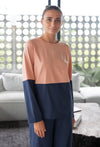 Tess Colour Block Top $55