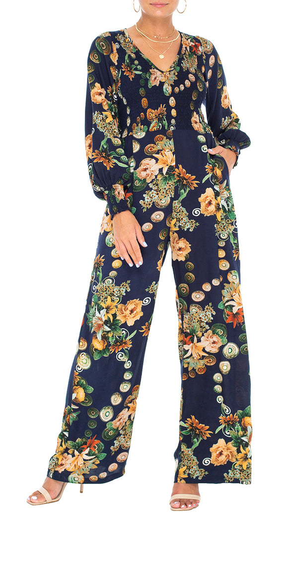 Cleo Long Sleeve Jumpsuit