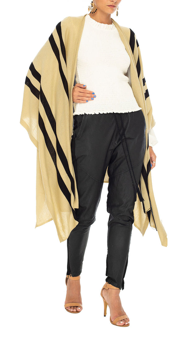 Saba Striped Cape