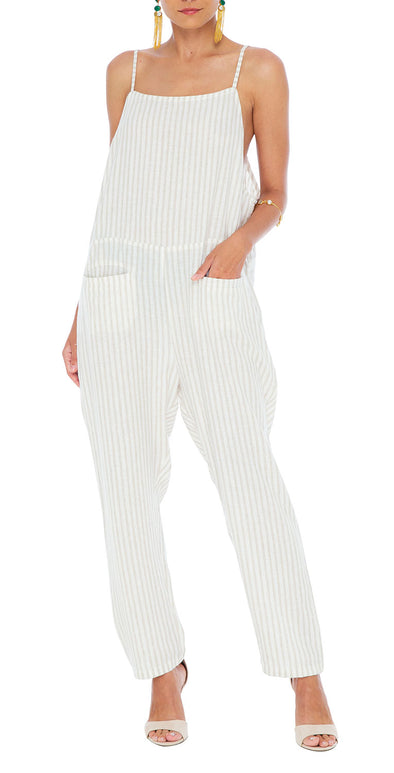 Ashley Linen Jumpsuit