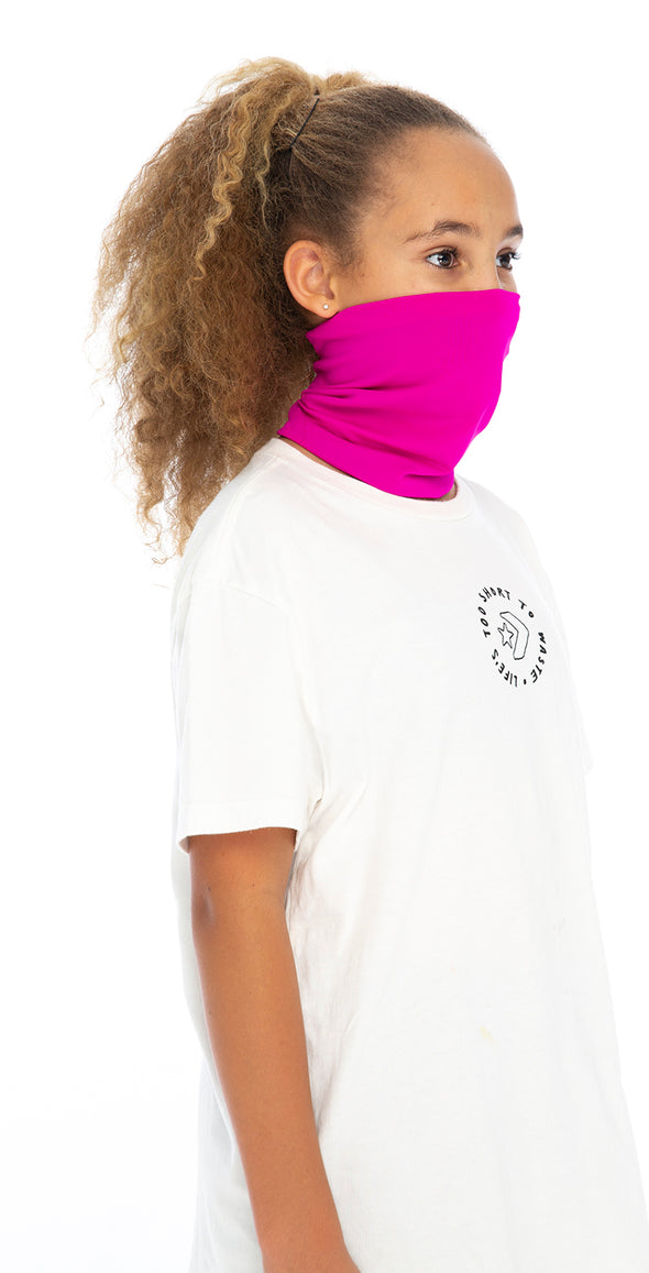4 Pack | Double Layer | Girls Pull Up Masks