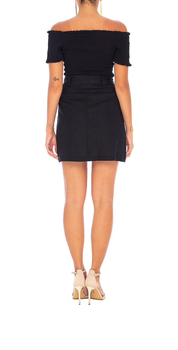 Elle Panelled Skirt