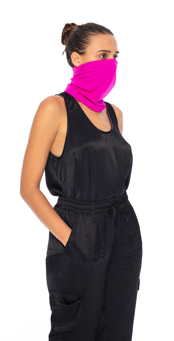 4 Pack | Double Layer | Womens Pull Up Masks