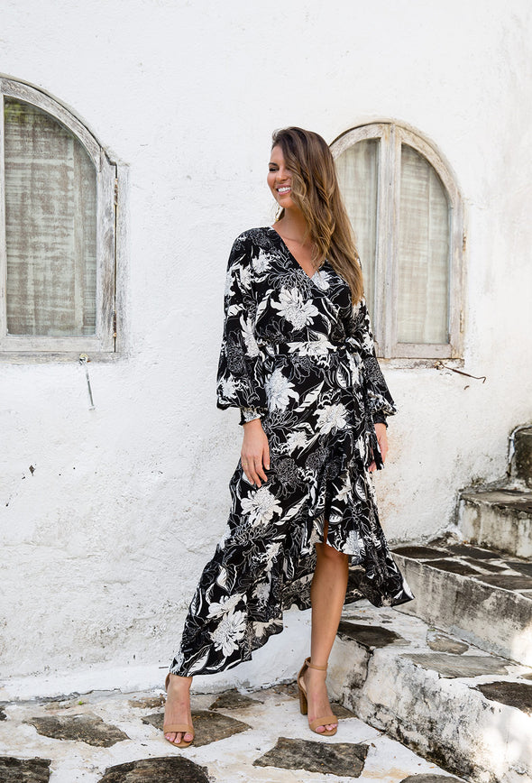 Libby Wrap Dress