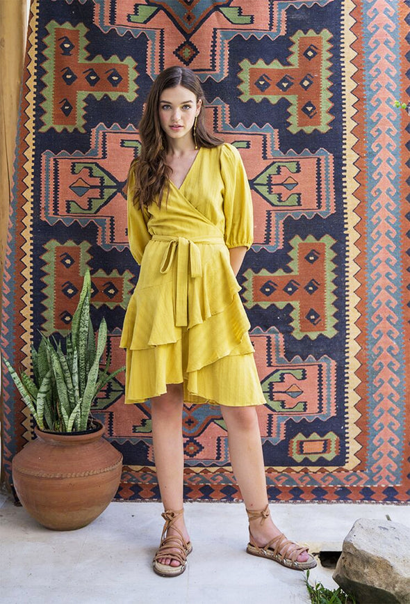 Skylan Wrap Dress