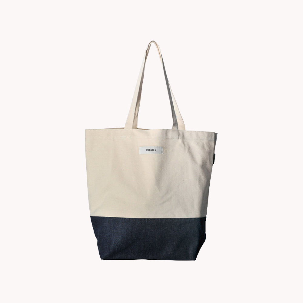 Coffee Extremists Tote Bag (Roaster) (Beige)