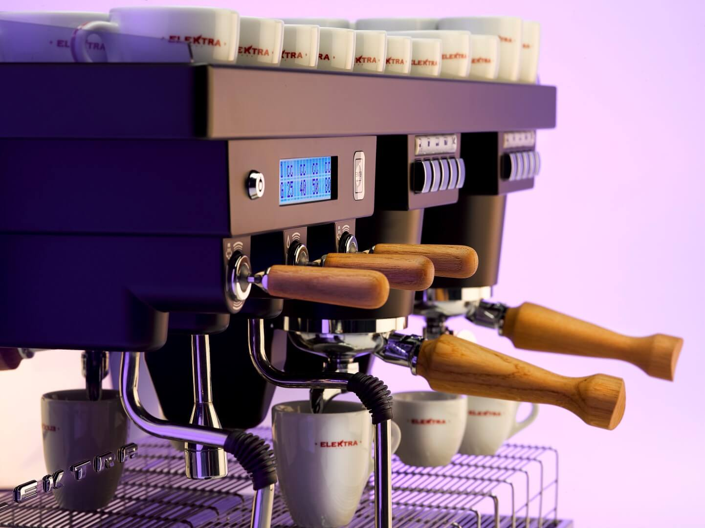 Elektra KUP Automatic Coffee Machine - 3 Group