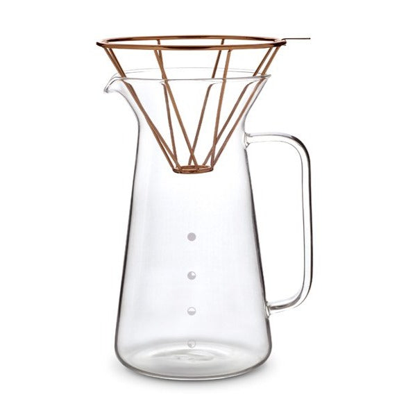 H.A.N.D Coffee Carafe Set by Toast Living