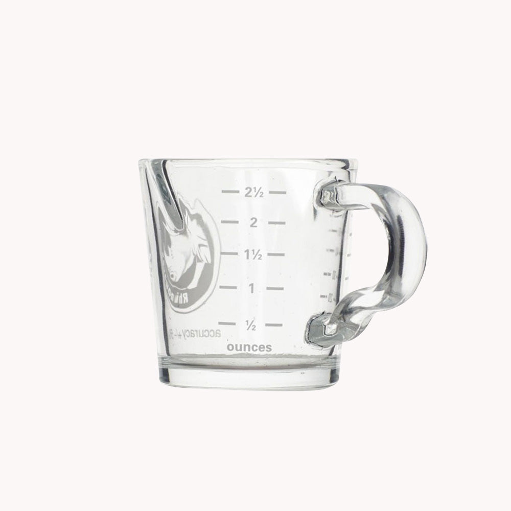 Rhino Shot Glass with Spouts and Handle 2.4oz/70ml