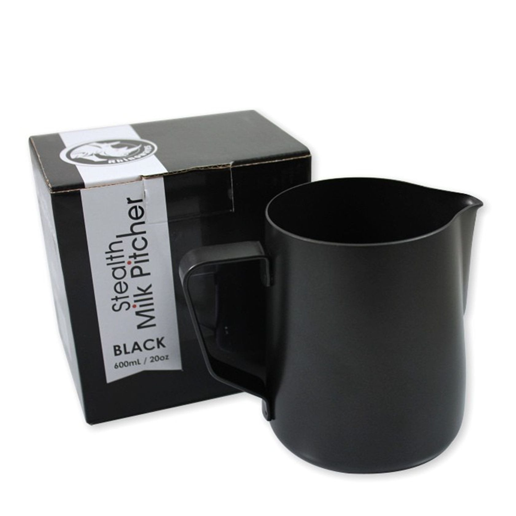 Rhino Coffee Gear Stealth Milk Pitcher 20oz/600ml