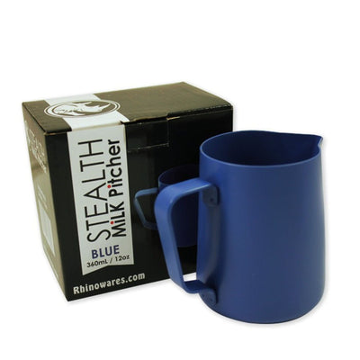 Rhino Coffee Gear Stealth Milk Pitcher 12oz/360ml