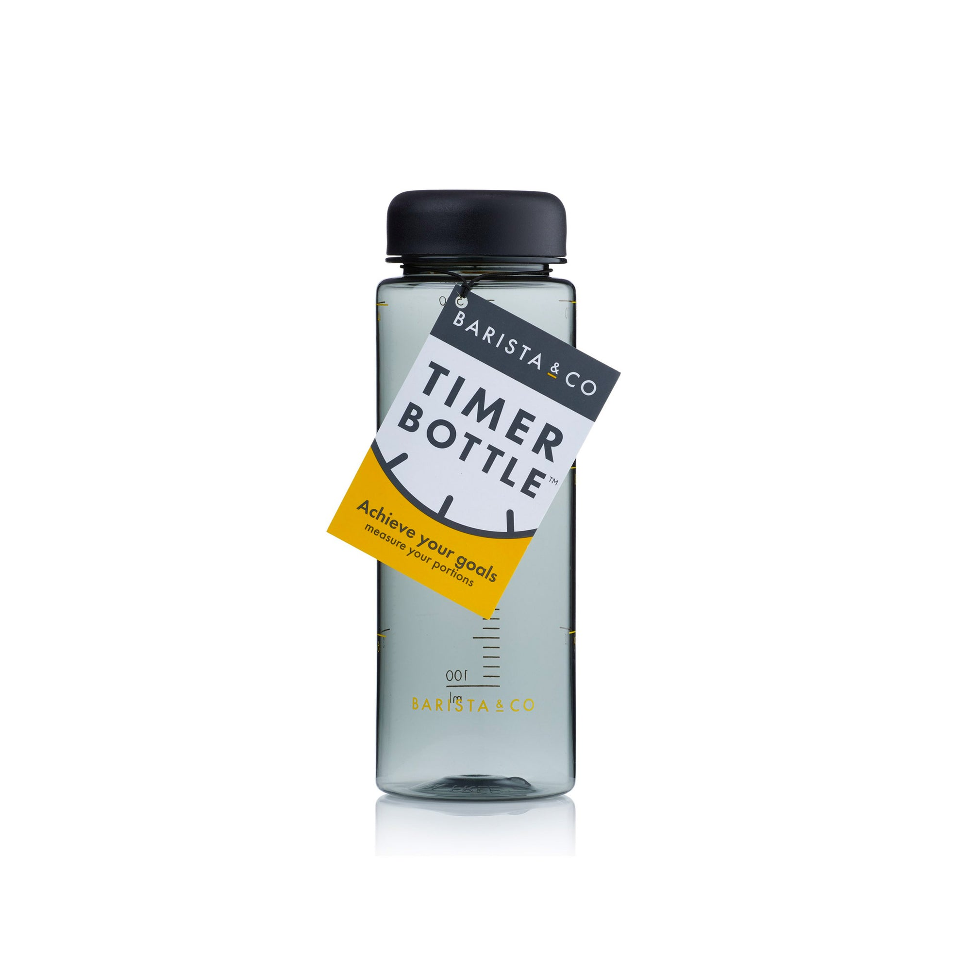 Timer Measure Water Bottle- Barista & Co.