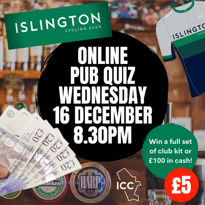 ICC Virtual Pub Quiz - December 16th 2020