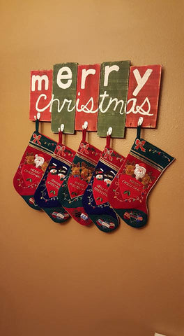 Christmas Stocking Holder
