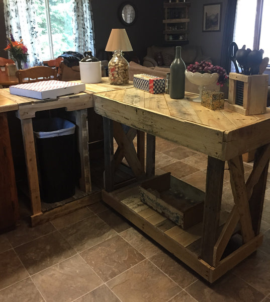 Kitchen Island (L Shaped)