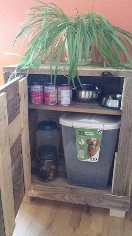 Dog Food Cabinet (Deanna)