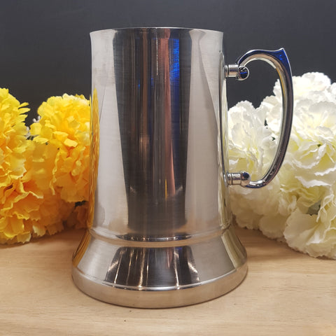 Stainless Steel 18oz Beer Mug