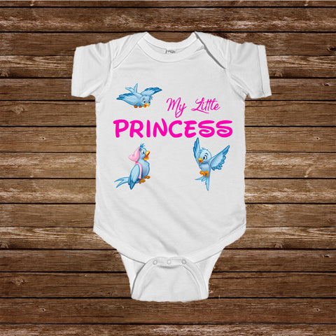 Princess Printed Onesie