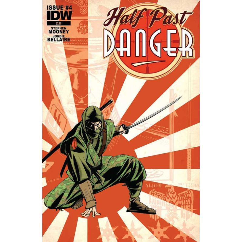 Half Past Danger Issue 4 Cover A Comic Books