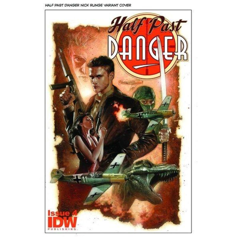 Half Past Danger Issue 4 Sub Cover Comic Books
