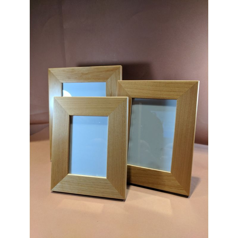 Plain Timber Photo Frame Plaques Signs & Gifts