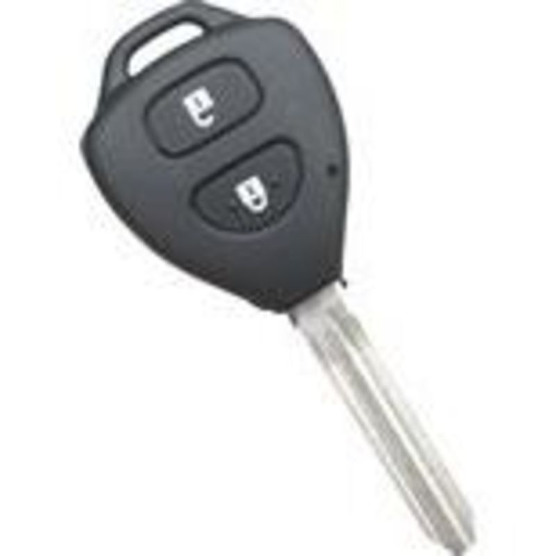 Rtr-Shell5 - Triangle Toyota 2 Button Shell Remotes