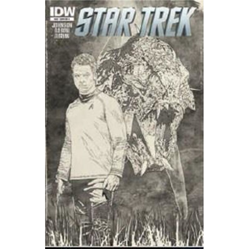Star Trek Issue 24 Cover Ri-A Comic Books