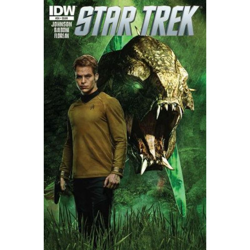 Star Trek Issue 24 Standard Cover Comic Books