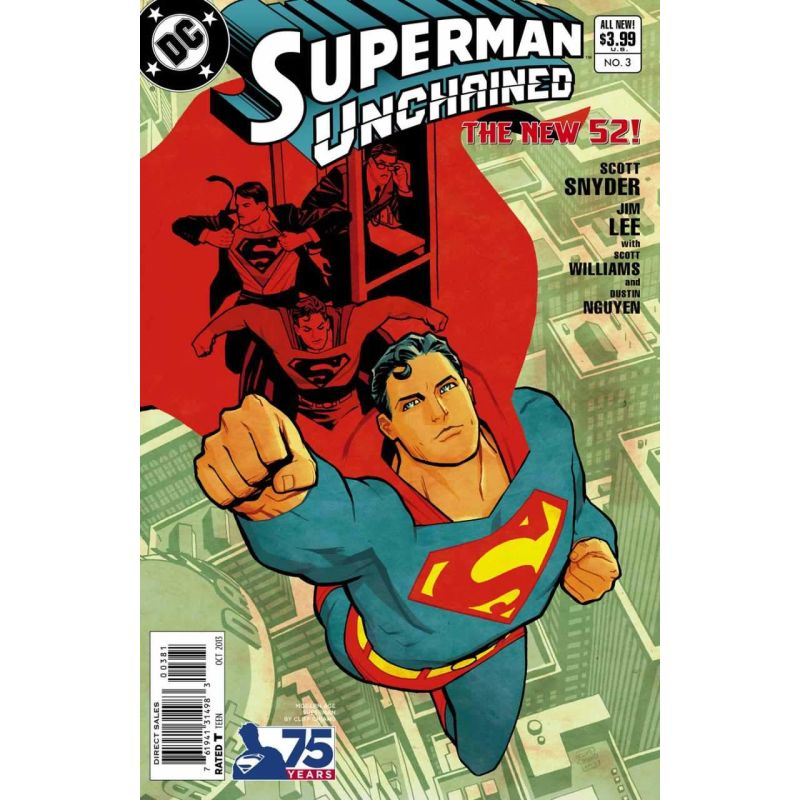 Superman Unchained Issue 3 Limited Cover G Comic Books