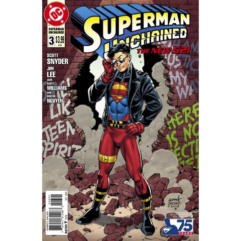 Superman Unchained Issue 3 Limited Cover H Comic Books