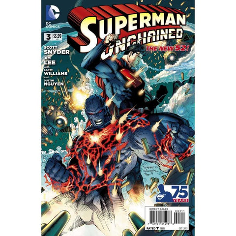 Superman Unchained Issue 3 Standard Cover Comic Books