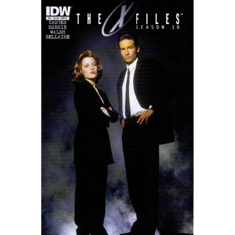 The X Files Season 10 Issue 3 Cover B Comic Books