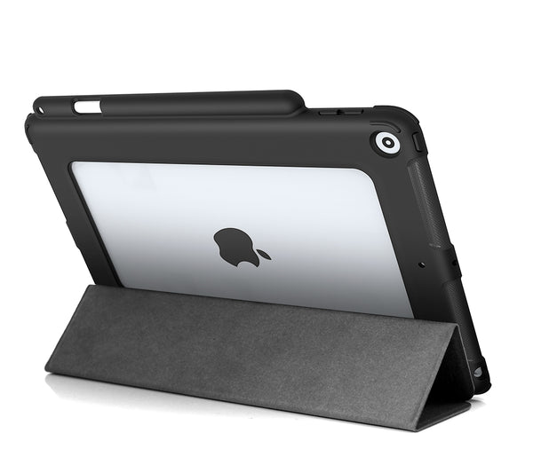 "NK Clear Back w/ Stylus Holder for iPad 10.2"" (7th Gen)"