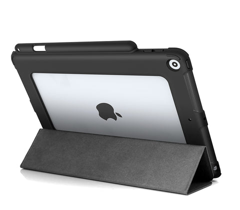 "NK Clear Back w/ Stylus Holder for iPad 10.2"" (7th/8th Gen)"