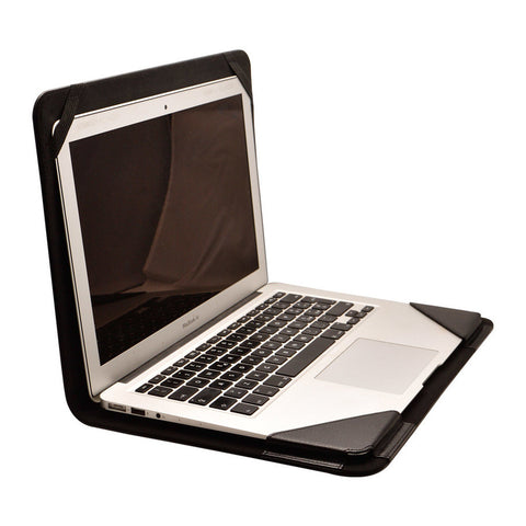 Black Laptop cover 13 inch | Designed in Italy | NutKase