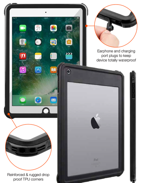 "NK Ultra Waterproof Case for iPad 10.2"" (7th/8th Gen)"