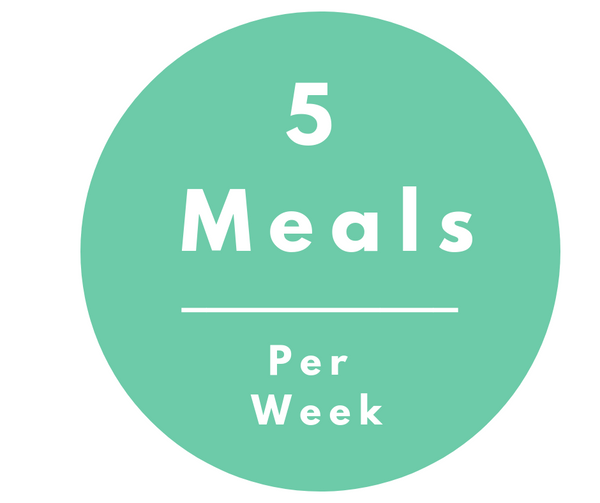 5 Pack Meal Plan