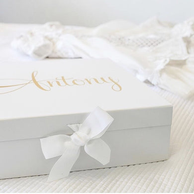 *PRE ORDER* Large Personalised Gift Box - Bespoke Baby Co
