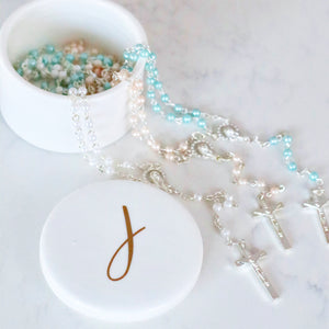 Babies First Rosary - Bespoke Baby Co