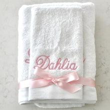Load image into Gallery viewer, Embroidered Towel Set - Bespoke Baby Co