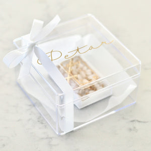 Clear Trinket Box - Bespoke Baby Co