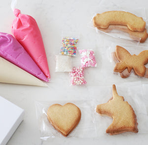 Unicorn & Rainbows DIY Cookie Kit - Bespoke Baby Co
