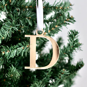 Initial Ornaments - Bespoke Baby Co
