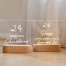 Load image into Gallery viewer, Christmas Countdown Lights - Bespoke Baby Co