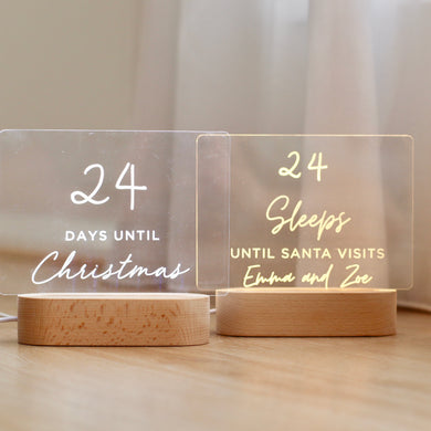*PRE ORDER*Christmas Countdown Lights - Bespoke Baby Co