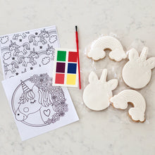 Load image into Gallery viewer, Paint Your Own Unicorn Cookie Kit - Bespoke Baby Co