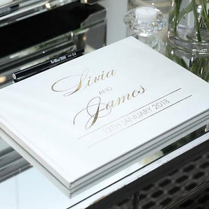 Personalised Guest Book - Bespoke Baby Co