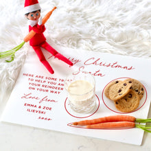 Load image into Gallery viewer, Santa Treat Board - Bespoke Baby Co