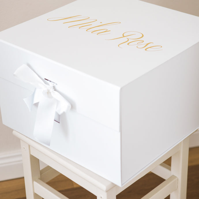 Extra Large Personalised Box - Bespoke Baby Co
