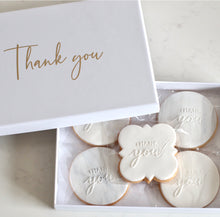 Load image into Gallery viewer, Thank you Cookie Gift Box - Bespoke Baby Co
